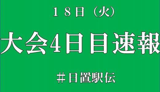 大会4日目速報